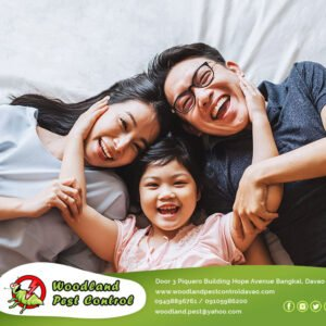 Woodland Pest Control Services in Davao City keeps your home just that, YOUR HOM…